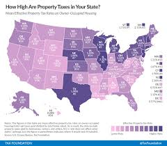 How High Are Property Taxes In Your State This Map Has The
