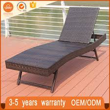 garden patio chaise lounge lying bed rattan furniture philippines sh lb045