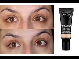 Lancome Concealer Color Chart Review Demo Lancome Effacernes Waterproof Undereye