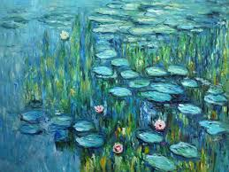 les nymphéas the water lilies oil painting reion canvas by claude monet