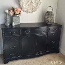 black painted furnitureLilyfield Life How to paint furniture black like a boss