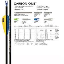 Easton Carbon One Arrows Dz
