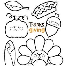 cute printable thanksgiving coloring pages. Wonderful Cute Adorable Thanksgiving Colouring Good For Preschoolers Of Early Schoolage  Kids On Cute Printable Coloring Pages Y