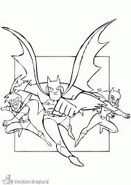 Kleurplaten Batgirl Kleurplaten Kleurplaatnl