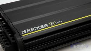 kicker cx car amplifiers new 2013 amp line