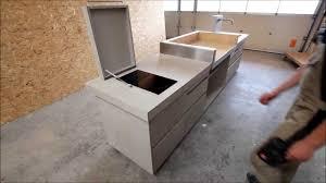 Outdoor Küche In Betonoptik Von Www.schreinerei Aumueller.de   YouTube