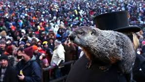 why do we celebrate groundhog day mother nature network punxsutawney phil surveys a crowd of 35 000 on groundhog day 2013