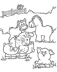 Zoo Animals Coloring Pages For Preschoolers Animal Color Page