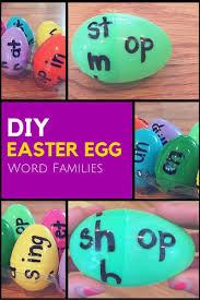 word easter egg diy easter egg word family game