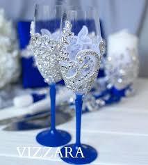 wedding glasses ideas image 0 diy wedding champagne glasses ideas