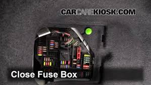 replace a fuse 2010 2016 bmw 528i 2011 bmw 528i 3 0l 6 cyl 6 replace cover secure the cover and test component
