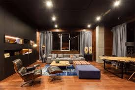 private office design. Stylish Private Office Apartment In Kiev Design B