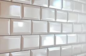 white beveled subway tile backsplash i love this as a kitchen beveled subway tiles pewter grout