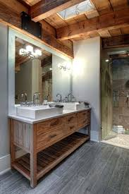Lovable Rustic Modern Bathroom Design Ideas Decor Mirrors Images
