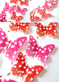 3d Butterfly Wall Decor 12pcs Creative Butterfly Wall Stickers Shiny Porcelain Pattern 3d