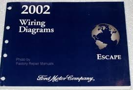 2002 ford escape electrical wiring diagrams original manual 2002 wiring diagrams ford escape