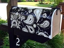 painted mailbox designs. Painted Mailbox Designs C