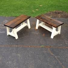 farm style bench