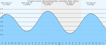 Tide Chart Kennebec River Bath Maine Sturgeon Island Merrymeeting Bay Kennebec River Me Tides