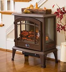 compact electric stove. Simple Electric Plow U0026 Hearth Portable Indoor Home Compact Electric Panoramic Quartz  Infrared Heater 5000 BTU Bronze Inside Stove T