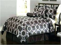 black and silver bedding king comforter white sets size super