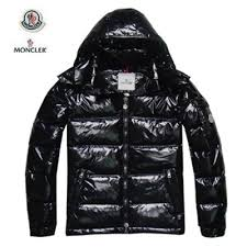 DG1117 Mens Moncler Down Jacket In Black  0658