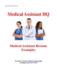 Medical Assistant Resume Examples Surgery Patient