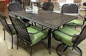 Aluminum patio furniture home depot