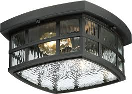 quoizel snn1612k stonington mystic black outdoor flush mount lighting loading zoom
