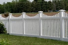 Vinyl fence Double Gate Vinyl Fence Fl Fence Consultants Of West Michigan Inc Vinyl Fence Fl Big Jerrys Fencing Fence Company Nc Fl