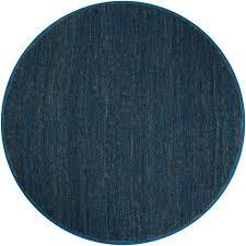 super navy blue round rug interesting roselawnlutheran
