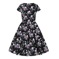 Swing Dress Lily Rose 50s 40026 Dressy