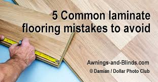 How To Avoid Common Laminate Flooring Mistakes