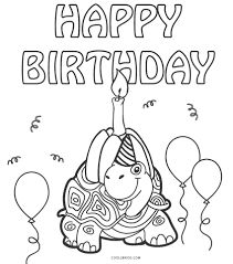 Color pictures, email pictures, and more with these birthday coloring pages. Free Printable Happy Birthday Coloring Pages For Kids
