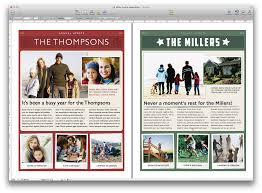 newsletter template for pages create a holiday newsletter with pages or iphoto macworld