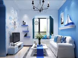 Blue Color Living Room New in House Designerraleigh kitchen