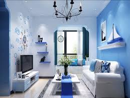 Interior Color Schemes For Living Rooms Blue Color Living Room Home Design Ideas