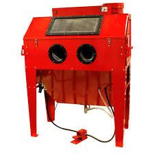 Sand Blaster Cabinet Black Bull 110 Gal Sandblaster Cabinet Dust Collector Sbc420