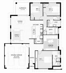 3 bedroom floor plan with dimensions pdf lovely house plans australia 3 bedrooms homeca
