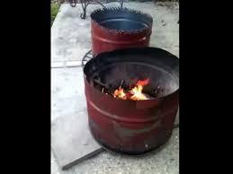 55 gallon drum firepits mini burn barrels