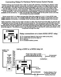 jegs fuel pump relay wiring diagram jegs discover your wiring fuel pump rewire dodge srt forum