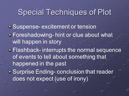 short story elements what parts make up a story ppt  7 special techniques