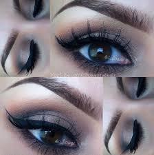 makeup for my big brown eyes