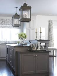 White And Gray Kitchen Grey Kitchen Cabinets With Black Countertops Furniture Marvelous