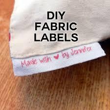 Diy Clothing Label Diy Fabric Labels On Twill Tape Jennifer Maker