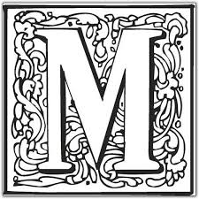 Small Picture Letter M Coloring Pages GetColoringPagescom