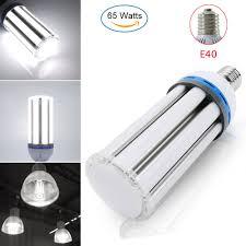 How To Change A Parking Lot Light Bulb Details About 65w Led Corn Light Bulb E39 Mogul Replace 400 Watt Metal Halide Parking Lot Lamp