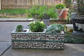 garden blocks. Garden Table The Pretty Cinder Block Raised Plans With Upcycled Blocks Making Beds Out Of Concrete