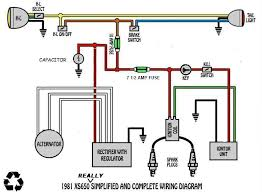 wiring diagram question about fuses welcome to the xs 650 garage usa module is powered through the key and kill switch the coil does not suffer any drop through these devices the other mrriggs diagrams were wired the