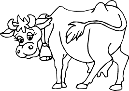 Small Picture Unique Cow Coloring Pages Best Coloring KIDS D 1350 Unknown